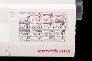Коверлок MerryLock 0115A