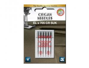 иглы Organ EL x 705 CR SUK 6/80-90 блистер
