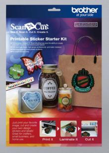 Базовый набор Scan&Cut для печатных наклеек CAPSKIT1