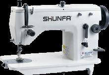 Высокоскоростная одноигольная швейная машина зигзаг Shunfa SF20U-53D для средних тканей