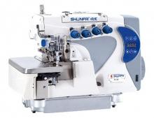 Промышленный 4-х ниточный оверлок Shunfa F4-4D с дифференциальным продвижением материалов и сервоприводом