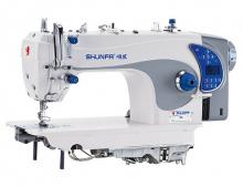 Высокоскоростная одноигольная швейная машина челночного стежка Shunfa S-5 для лёгких, средних и тяжёлых тканей