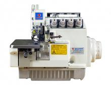 Промышленный 4-х ниточный оверлок Shunfa SF 958-4D с дифференциальным продвижением материалов и сервоприводом
