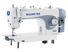 Высокоскоростная одноигольная швейная машина челночного стежка Shunfa S-1 для легких и средних тканей