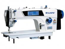 Высокоскоростная одноигольная швейная машина челночного стежка Shunfa S8-D5 для лёгких, средних и тяжёлых тканей