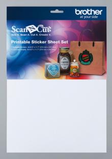 Комплект листов Scan&Cut для печатных наклеек CAPSS1