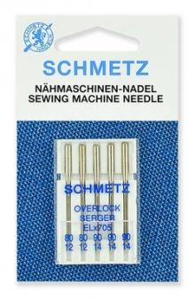 Иглы Schmetz ELx705 SF 5/80-90 хромированные