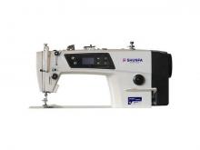 Высокоскоростная одноигольная швейная машина челночного стежка Shunfa SF8900D/H для средних и тяжёлых тканей