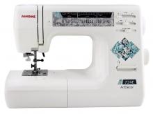 Электронная швейная машина Janome Art Decor 724 E