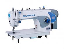 Высокоскоростная одноигольная швейная машина челночного стежка Shunfa S4-D2/H для средних и тяжёлых тканей