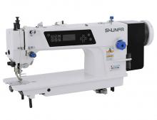 Прямострочная одноигольная швейная машина челночного стежка Shunfa SF 0308-D3 для тяжёлых материалов